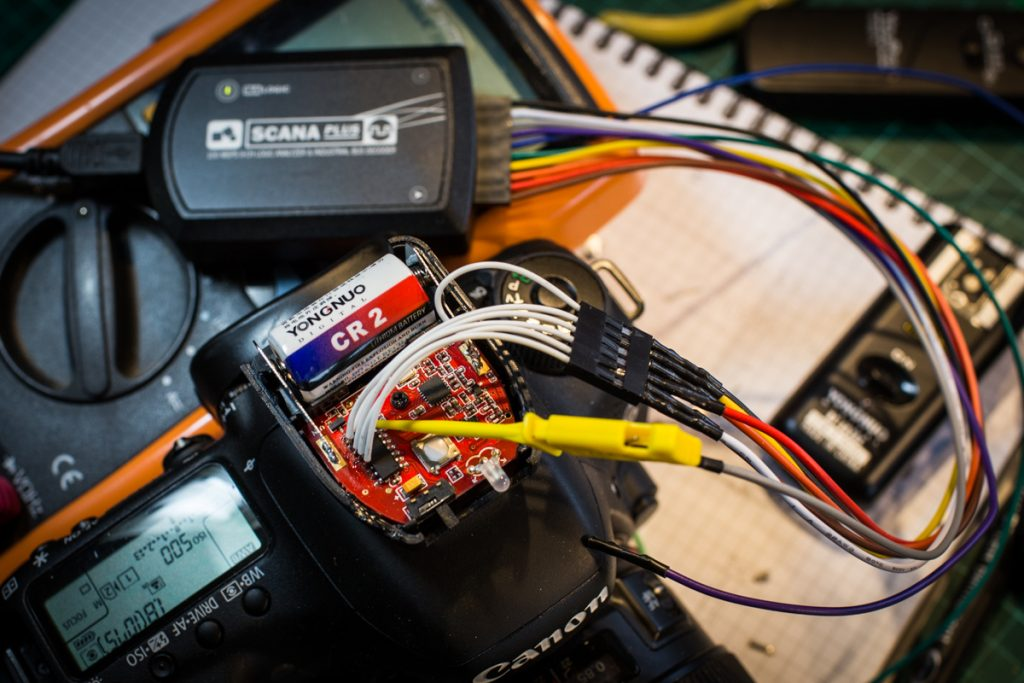 Connections to the Logic Analyser