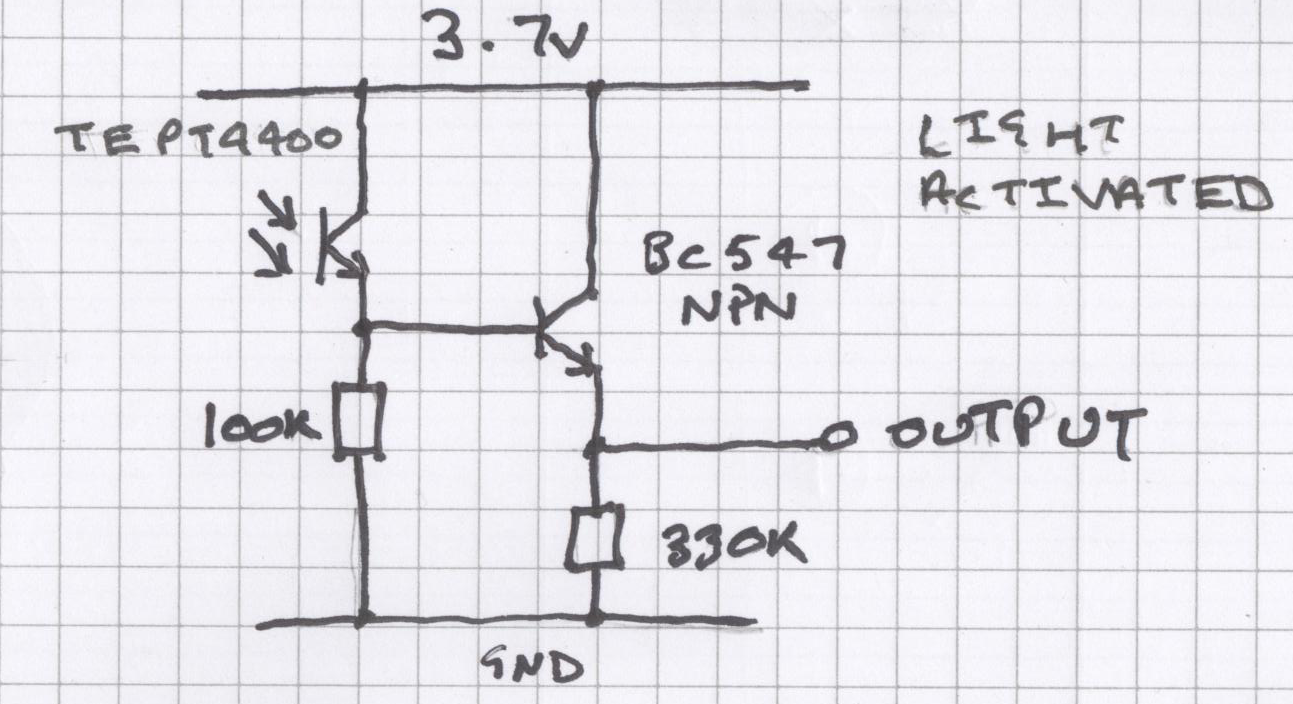 Electronics The Schematic Of Darkactivated Switch Circuit We Will Build Is Light Activated